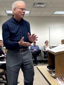 Chuck Bechold, Math Instructor, 2019-2020
