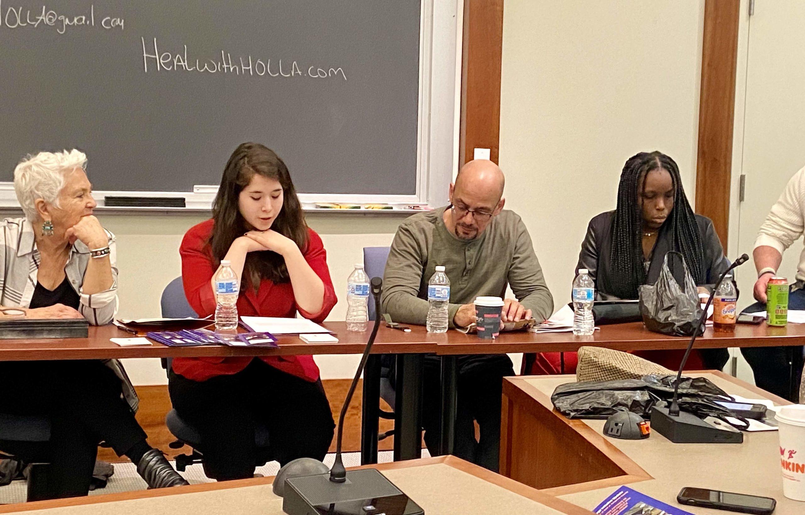 Beyond the Bars Presentation, Voices That Must Be Heard: Benay Rubenstein, Sara Jenab, Richard Rivera, Latoya Peterson and Clay Hapstak, 2020