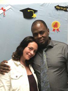 Amy Heffron A.A.S. Criminal Justice, TC3 2018, and Leroy Barrett