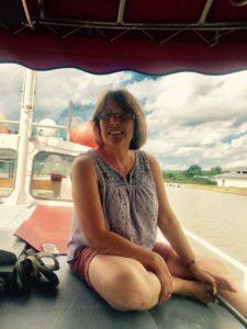 Suzanne Burnham aboard Tiohero Boat Tour, Summer 2017
