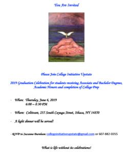 Invitation to CIU Graduation 2019