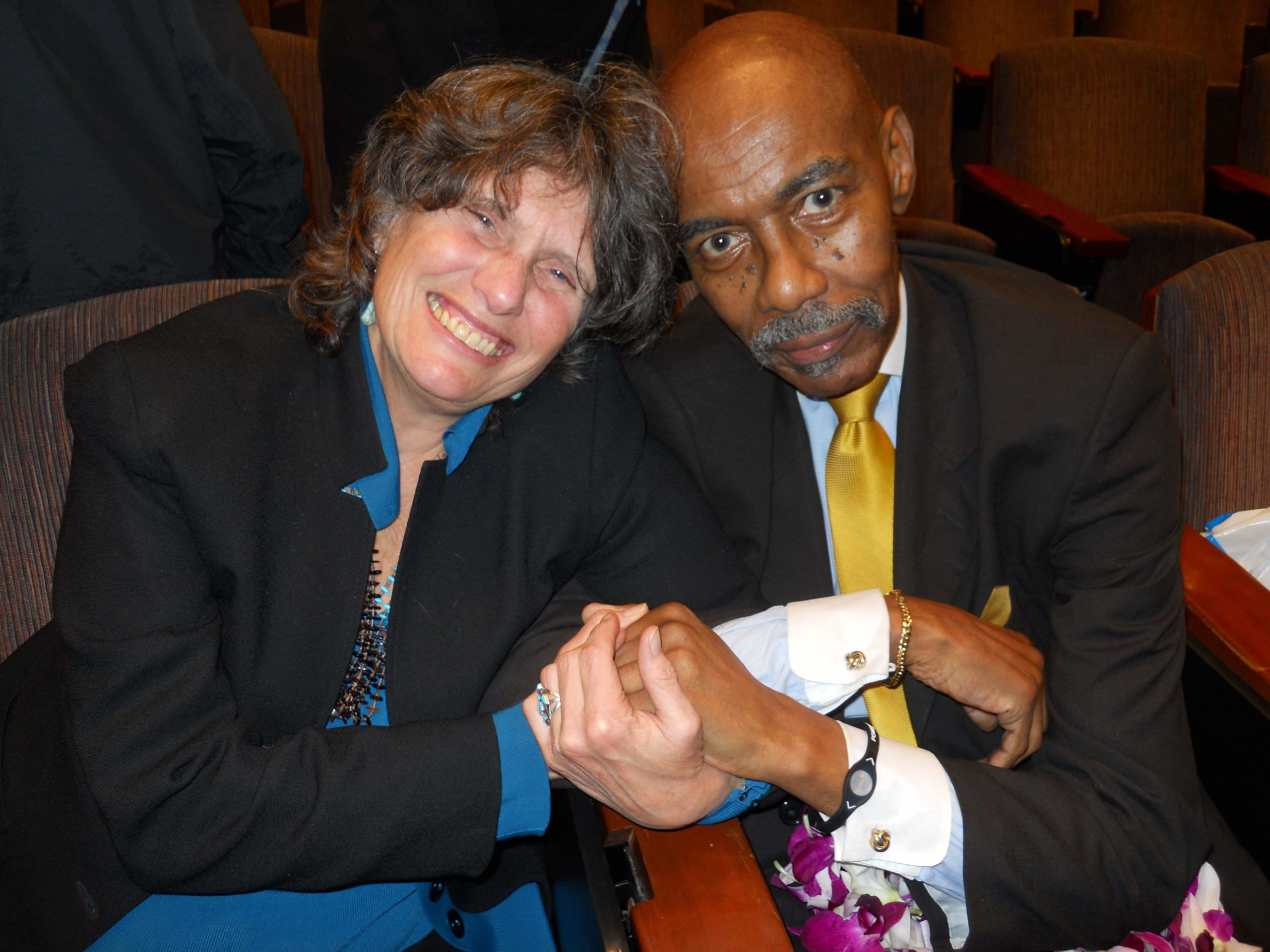 Eddie Ellis and Kathy Boudin, 2011