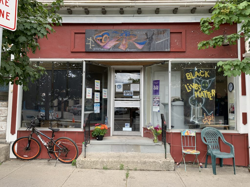 OAR storefront on State St