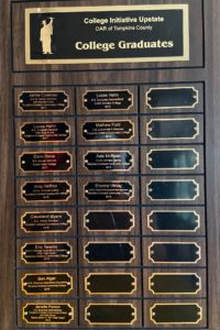 CIU Graduates Honorary Plaque