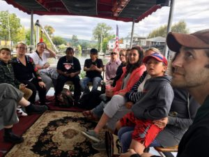 Tiohero Boat Tour on Cayuga Lake, Fall 2019